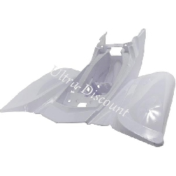 Rear Mud Guard Fairing for ATV Shineray Quad 150cc STE - White