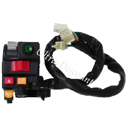 Left Switch Assy for ATV Shineray Quad 200cc STIIE-B