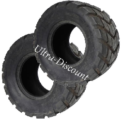 Pair of Rear Road Tires for ATV Shineray Quad 200cc - 18x9.50-8