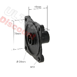 Rear Wheel Hub for ATV Shineray Quad 150 cc