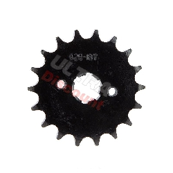 18 Tooth Front Sprocket for ATV Shineray Quad 200cc STIIE - STIIE-B
