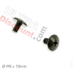 2 fairing screws M6x10 for ATV Big Foot