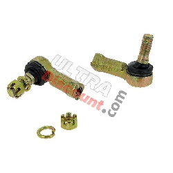 Steering Ball Joints + Nuts for ATV Spare Parts 250cc F1