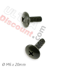 2 fairing screws M6x20 for ATV Big Foot