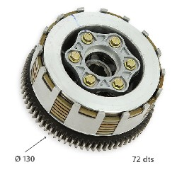Clutch for ATV ShinerayQuad 250cc STXE 130mm