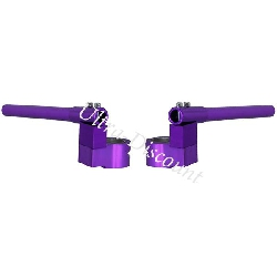 Custom Handle Bars for Pocket Bike (type 3) - Purple