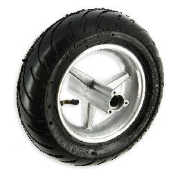Rear Rain Wheel for Pocket Bike - 110x50-6.5