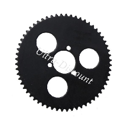 60 Tooth Reinforced Rear Sprocket for Pocket Bike (type 1) - small pitch