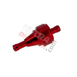 High Quality Removable Fuel Filter (type 1) - Red