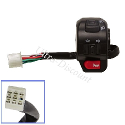 Left Switch Assy for Baotian Scooter BT49QT-11 (type 1)