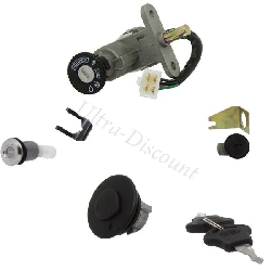 Complete Lock Assy for Baotian Scooter BT49QT-11 (type 1)