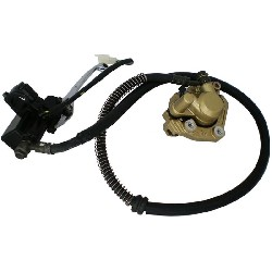Complete Front Brake Assy for Baotian Scooter BT49QT-7 (type 1)
