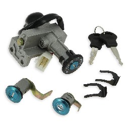 Complete Lock Assy for Baotian Scooter BT49QT-7