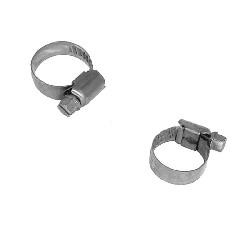 Set of 2 hose clamps for ATV Bashan Quad 200cc (BS200S-7) - 20mm