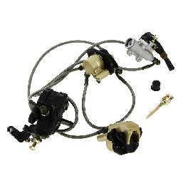 Complete Brake System for ATV Bashan Quad 250cc (BS250S-11)