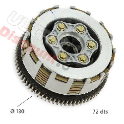 Clutch for ATV Bashan Quad BS200S7 type2