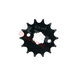 14 Tooth Front Sprocket for ATV Bashan Quad 250cc (428H, BS250S-11)