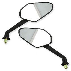 Pair of mirrors for Spare Shineray 200 ST9