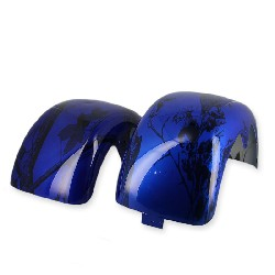 Mudguards for CityCoco - Blue plant (Type 2)