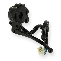 Left Switch Assembly for PBR 50cc ~ 125cc - Black