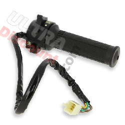 Right Switch Assembly for Dax 50cc ~ 125cc (Before 10-2015) - Black