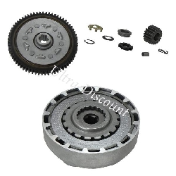 Complete Clutch for Dax Engine 50cc