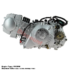 Engine 125cc 1P52FMI with Starter Motor for Dax  Skyteam
