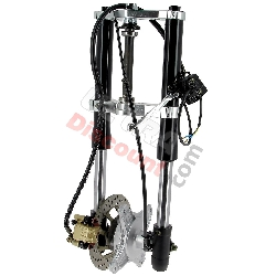 Complete Premium Front Fork for Dax 50cc - 125cc (Black)
