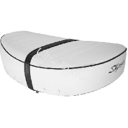 Custom Seat for Dax 50cc ~ 125cc - (White, 5.5l)