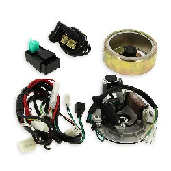 Complete Ignition Kit for Dirt Bike 125cc Kick Start