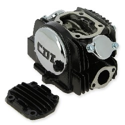 Cylinder Head + Hood Lifan for Dirt Bike 140cc 1P55FMJ (Black)