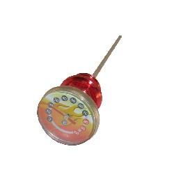 Custom Engine Oil Dipstick (Red) + Thermometer