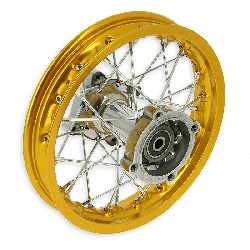 10'' Rear Rim for Dirt Bike (type 1) - Gold