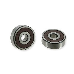 Pair of Wheel Bearings Ø10 for Pocket Bike 6300-RS