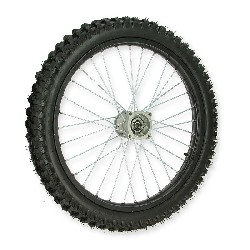 21'' Front Wheel for Dirt Bike AGB30 - Black