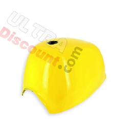Fuel Tank yellow for Gorilla 50cc-125cc (after 09-2015)