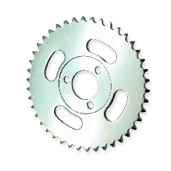 42 Tooth Rear Sprocket for Monkey - Gorilla - White Zinc