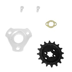 Offset Front Sprocket + 15mm Spacer Offset for Monkey (16 tooth)