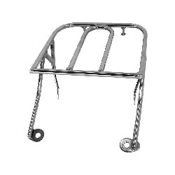 Custom Rear Luggage Rack for Monkey - Gorilla - Chrome