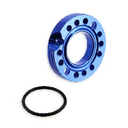 Carburetor Spinner Plate for PBR 110cc and 125cc (Blue, 26mm)