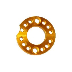 Carburetor Spinner Plate for PBR 110cc and 125cc (Gold, 26mm)