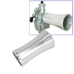 Aluminum Air Funnel for PBR (L: 100mm)