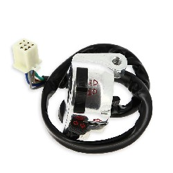 Left Switch Assembly for PBR Skyteam 50 to 125cc (SEMI-AUTO) - Aloy