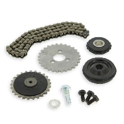 Cam chain set 50cc for PBR Skyteam