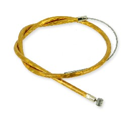 Front Brake Cable 50cm, (Gold) for Parts Pocket Blata MT4