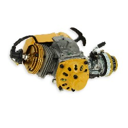Engine complete 53ccUD Racing for Pocket Supermotard - Yellow - GOLD