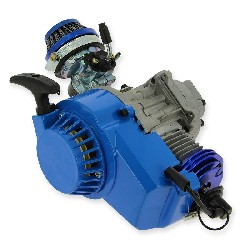 Engin 53cc UD Racing engine for Pocket Bike - BLUE