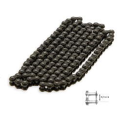 59 Links Reinforced Drive Chain for Pocket Bike (small pitch)