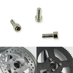 disc and crown fixing screw for Pocket ATV