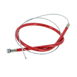 Custom Rear Brake Cable - Red 50cm